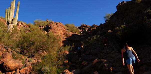 Hike Camelback Mountain