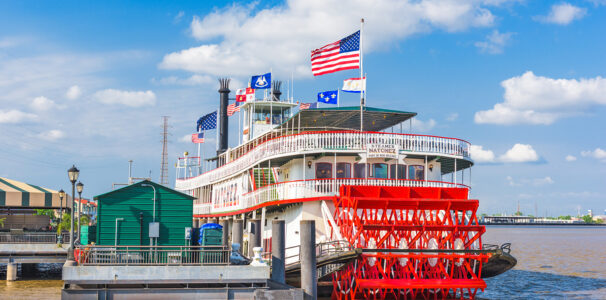 Ride New Orleans' Only Steamboat