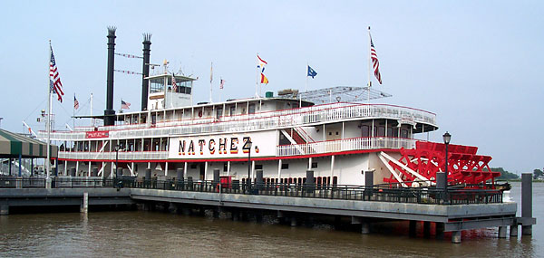 Steamboat Natchez New Year's Eve Extravaganza