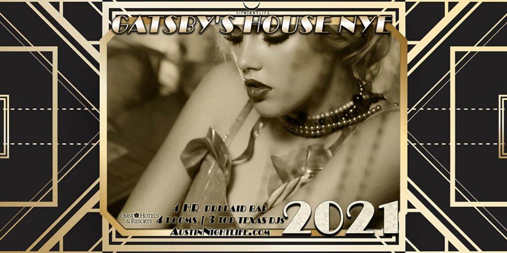 Gatsby\'s House - Austin New Year\'s Eve 2021