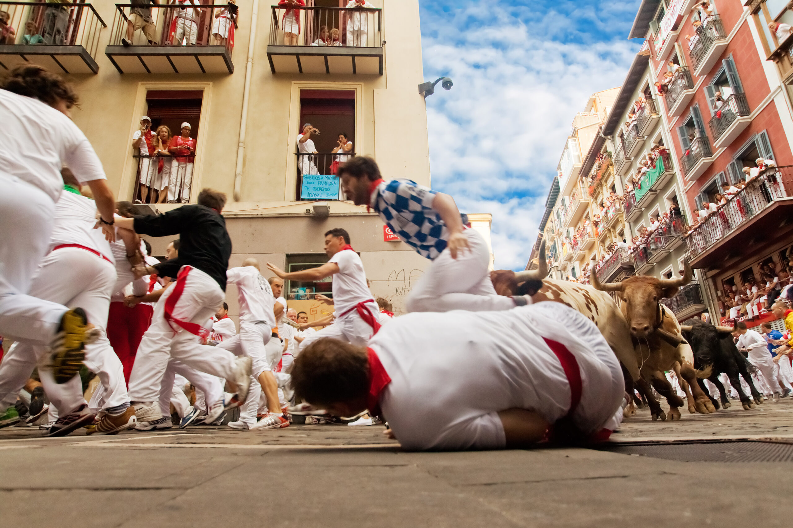 running with the bulls spain