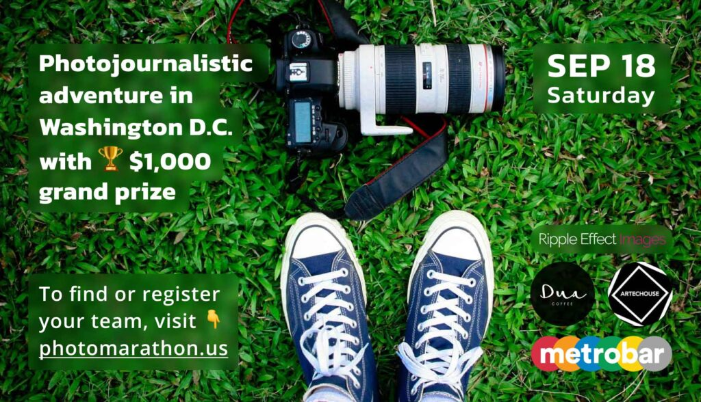 Photomarathon: photo-quest in which your team can win $1,000